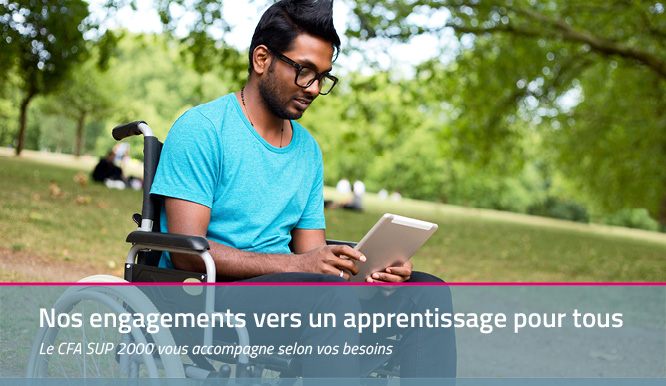 L'apprentissage en situation de handicap